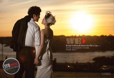 《悉尼婚纱外景拍摄攻略》精美杂志