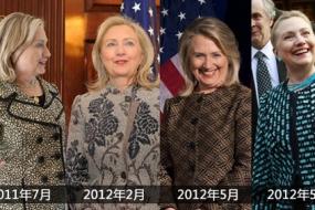 【时尚前沿 】 希拉里50年时尚变迁 曾因品位差遭媒体恶评
