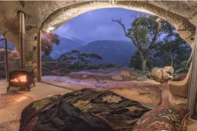 【旅游】又一蓝山好去处,专为情侣打造!豪华山洞旅馆饱览蓝山美景