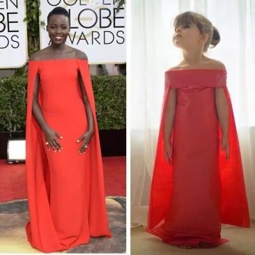 【时尚】她才5岁,却是美国最天才的设计师