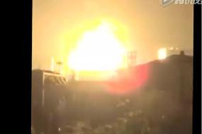 【新闻】现场直击:人间炼狱 天津滨海新区一码头深夜突发爆炸 已致17人遇难(为同胞祈福 )