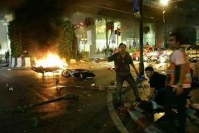 【新闻】泰国曼谷爆炸,22人死亡,其中包含3名中国人,泰国警方已锁定曼谷爆炸嫌疑人