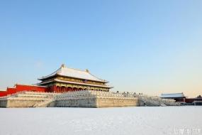 【中国风】西安银杏,故宫白雪,醉美中国风!