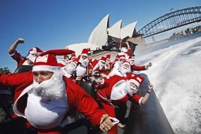 【澳洲生活】澳洲圣诞狂欢节,先睹为快