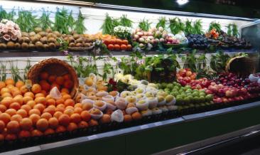超市生鲜农产品并不新鲜利用化工过程保存蔬果肉类