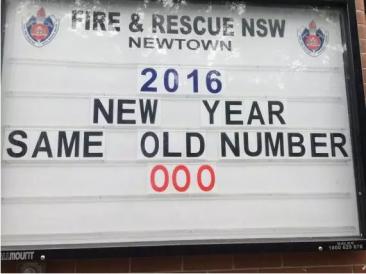 悉尼有个最萌消防站,快来看看今天它的告示牌上又写了些什么?