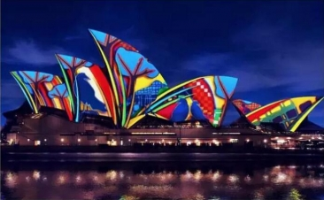 今晚!悉尼美到炸!2016年悉尼灯光音乐节(Vivid Sydney)今晚开启 你准备好了吗?