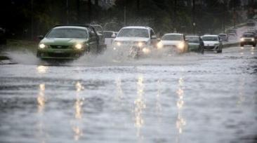 【天气】今天悉尼普降暴雨,气象局发布大风预警,新州部分河谷可能出现洪灾!