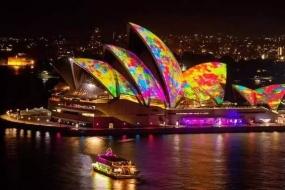"""号称""""一生必看一次""""的悉尼灯光音乐节,马上就要来了~"""